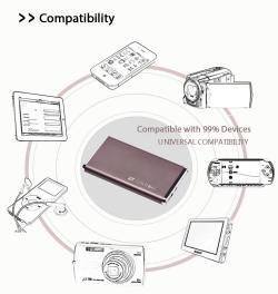 Original Scud Powerbank Universal Free Samsung Original earphone & free Home Delivery