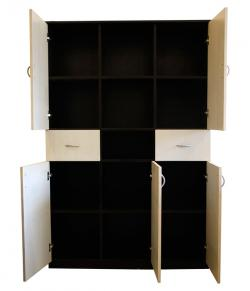 Wooden Large File Cabinet - 15 Cabinets - (SD-042)