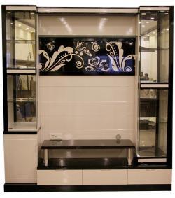 Heavy TV Cabinet - White TV Rack - SD-050