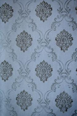 Black Floral Pattern Wallpaper For Home Decoration (002800)