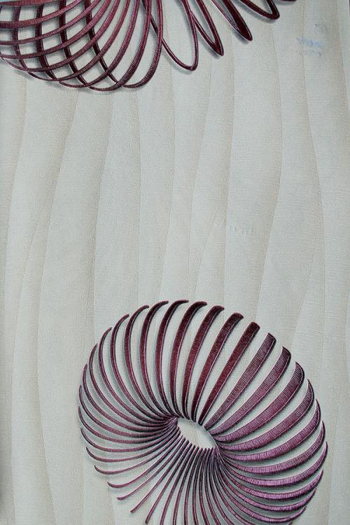 Black Spiral Design Wallpaper For Home Decoration (003200) SD-WP-016