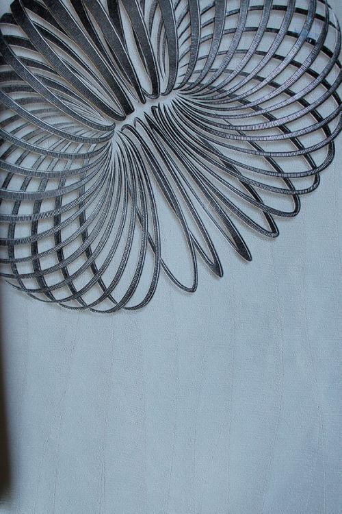 Black Spiral Design Wallpaper For Home Decoration (003200) SD-WP-017