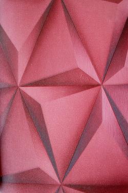 Rose Rhombus Design Wallpaper For Home Decoration (002600) SD-WP-018