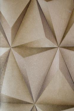 Beige Rhombus Design Wallpaper For Home Decoration (002600) SD-WP-019