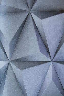 Cerulean Rhombus Design Wallpaper For Home Decoration SD-WP-020