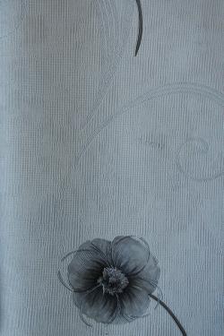 Black & White Floral Design Wallpaper For Home Decoration (003000) SD-WP-029