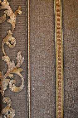 Gold & Brown Floral Design Wallpaper For Home Decoration (002600) SD-WP-035
