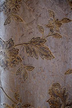 Chestnut Brown Floral Design Wallpaper For Home Decoration (004000) SD-WP-055