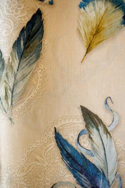 Feather Design Wallpaper For Home Decoration SD-WP-069