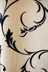 Black & Vanilla Floral Design Wallpaper For Home Decoration SD-WP-070