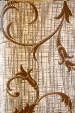 Brown & Vanilla Floral Design Wallpaper For Home Decoration SD-WP-071