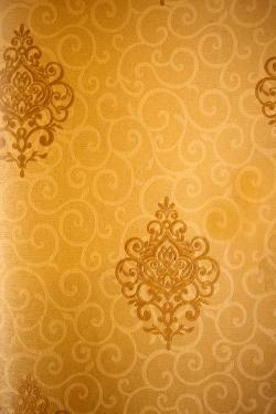 Vintage Golden Pattern Wallpaper For Home Decoration SD-WP-081