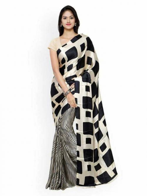 Crepe Silk Printed Saree