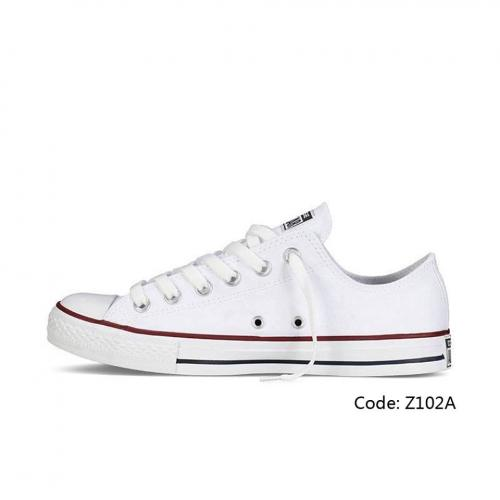 mens white converse shoe