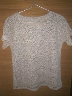 White net T-shirt