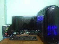 Gaming Desktop (4k Gaming Pc) With Monitor