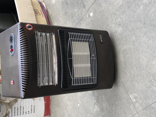 AYGAZ gas heater with electric heater (2in1)