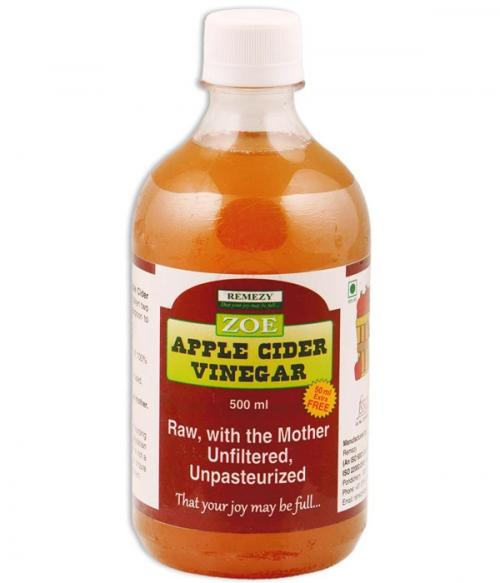 Zoe Apple Cider Vinegar Unfiltered Unpasteurized With Mother - 500 ML