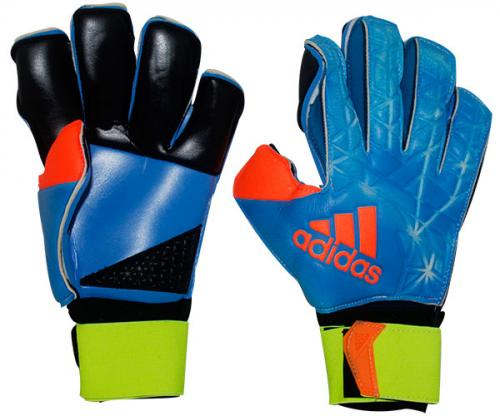 Adidas Goalkeeper Gloves (KSH-007) - Blue/Black