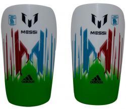 Messi Kneepad - White/Green (KSH-017)