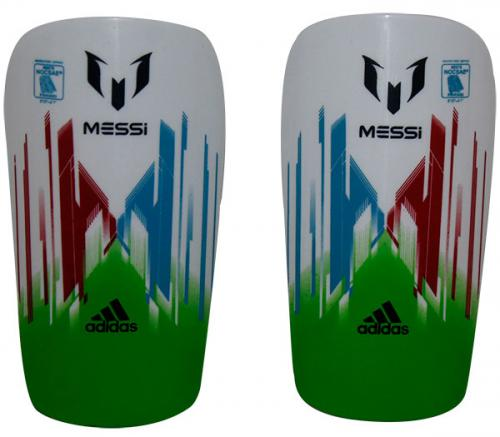 Messi Kneepad - White/Green (KSH-017)