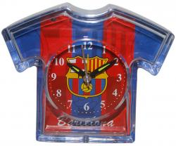 FC Barcelona Jersey Clock with Pan Battery - Blue (KSH-024)
