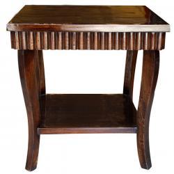 Dark Brown Sissoo Wood Coffee Table (SD-065)