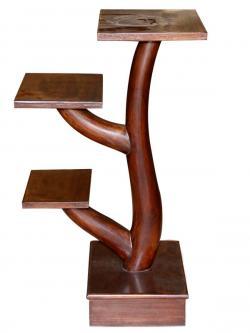 Brown Sissoo Wood Tree Stand (SD-069)