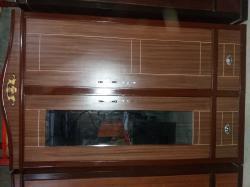 2 pieces lining cupboard