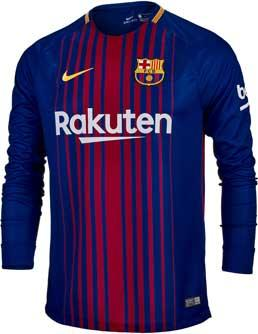 size 40 87bc6 660c6 FC Barcelona 17/18 Jersey Full Sleeve (KSH-058) by KTM ...