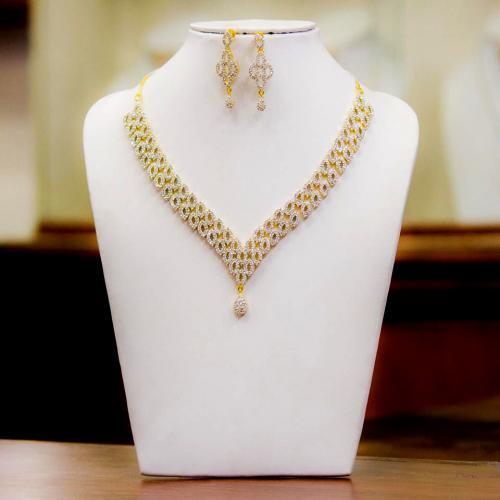 American diamond necklace Normal