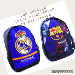 Club printed backpack