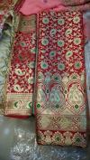 Banarsi Saree with Shawl Set