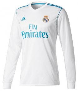 Real Madrid CF 17/18 Jersey Full Sleeve (KSH-057)