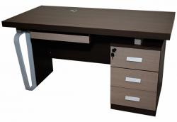 Wooden Office Table With Drawers - (SD-078)