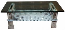 Glass Topped Coffee Table - (SD-079)