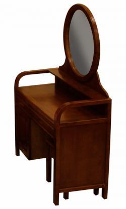 Dark Brown Dressing Table - (SD-036)