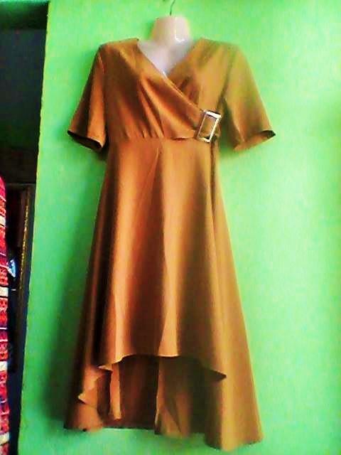 Cocktail side belted Dress