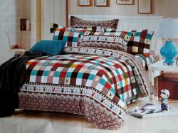 Royal Collection Bedsheet With Blanket Cover - 100% Cotton - (RC-0005)