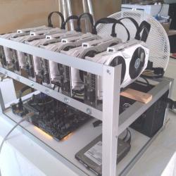 Ethereum Mining Rig New! 6×1070 180Mh/s ZCash/Monero