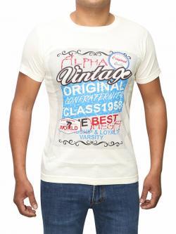 Vintage Original Printed T-shirt For Men (RS-26)