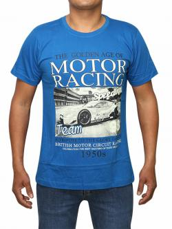 Vintage Motor Racing Printed T-shirt For Men (RS-27)