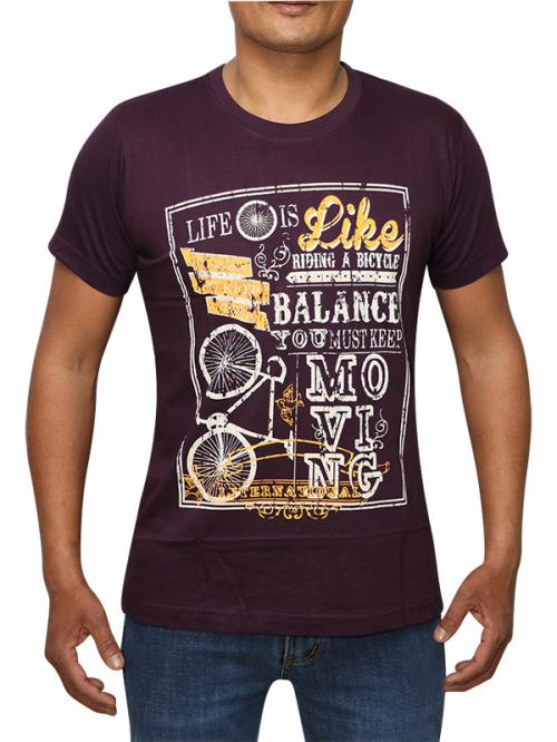 Motivational Quote Printed T-shirt For Men (RS-28)