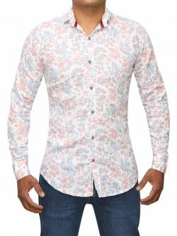 Floral Design Shirt For Men (RS-29)