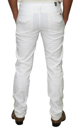 Gucci Stretchable White Cotton Pant (RS-0014)