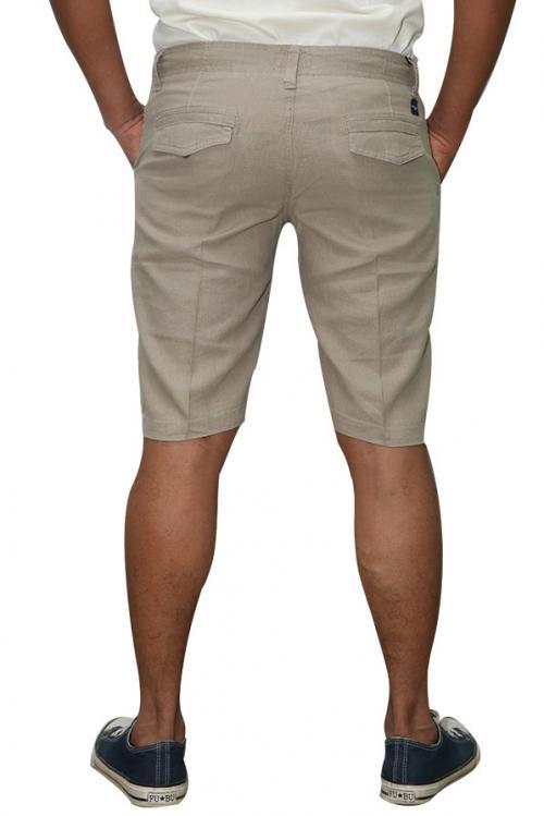 Paul Smith Cream Linen Half-Pant For Men (RS-0016)