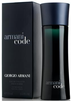 Armani Code Eau de Toilette Spray for Men - 75 ml - (INA-0048)