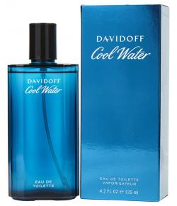 Cool Water By Davidoff For Men. Eau De Toilette Spray 125ml - (INA-0078)