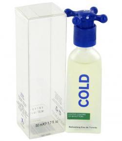Benetton Cold Natural Spray for Men 100 ml Eau De Toilette - (INA-0107)