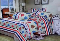 PR-8481 Queen Size Bed Sheet